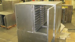 Huntarian Cabinets in production