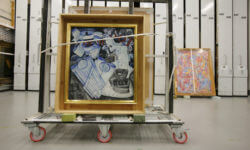 Art Handling Trolley