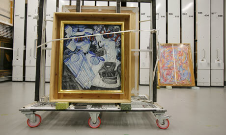 Art Handling Trolley