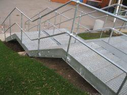 Burnage Boys Academy stairs