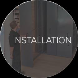 Installation button