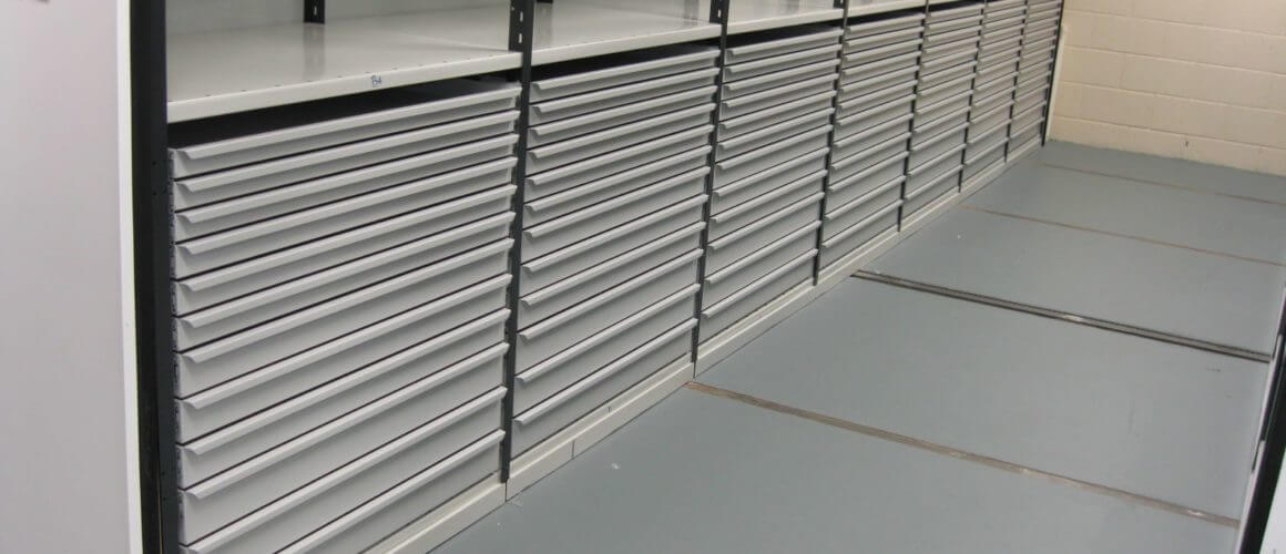 Mintlaw stores multitude of drawers
