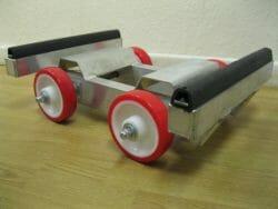 Non marking wheels